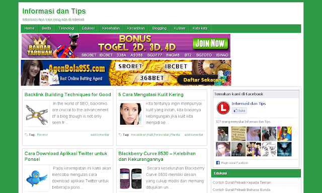 Template Blogspot SEO Friendly Terbaru, Template Blogger Terbaru, B-Seo versi 0