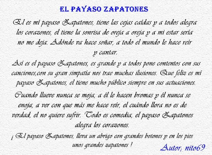 EL PAYASO ZAPATONES