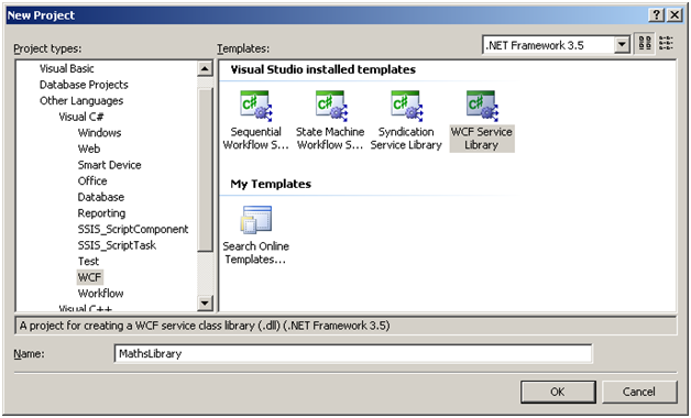 Example for hosting wcf service in windows service   www     C  Tutorials