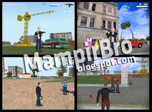 A free clone of Grand Theft Auto