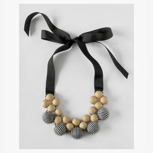 handmade, handcrafted designer necklace | Objets de Désir