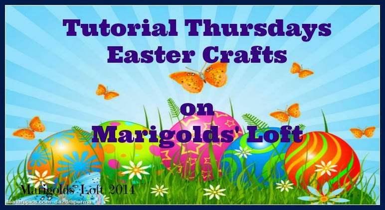 Easter Craft challenge on Marigolds' Loft