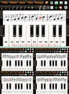 Composer Music Creator App Interface on iPhone