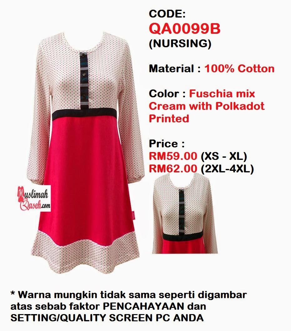 T-Shirt-Muslimah-Qaseh-QA0099B