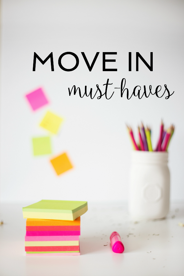moving, move essentials, move in must-haves
