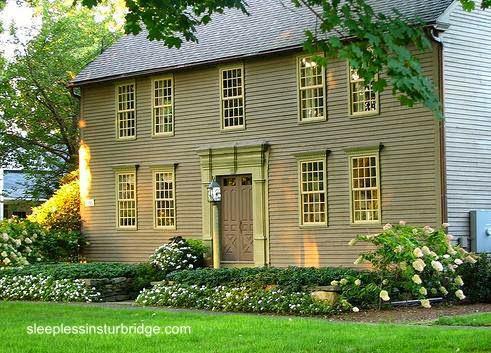 Casa señorial estilo Colonial en Massachusetts