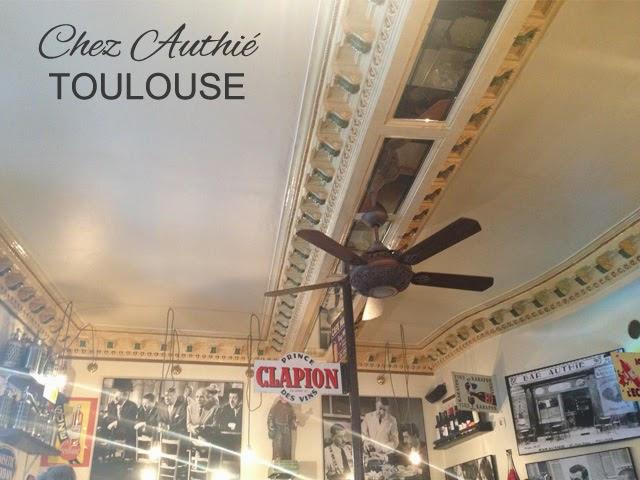 Chez Authié - resto Toulouse - blog