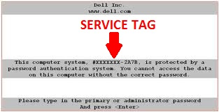 Finding Service Tag