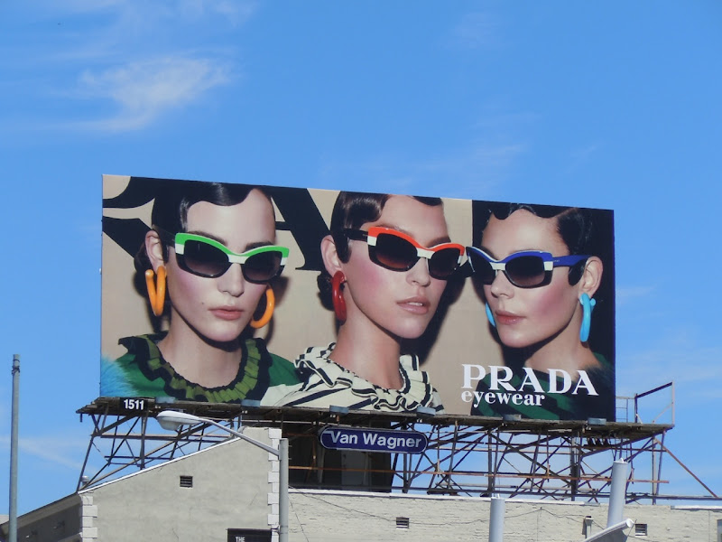 Prada Eyewear 2011 billboard