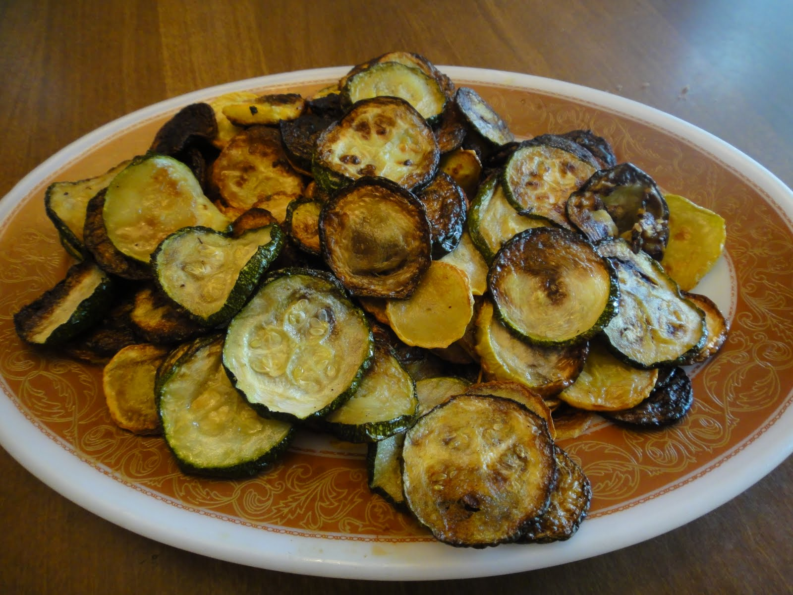 Kay's Keepers: Roasted Zucchini, Roasted Red Peppers and Olives over ...