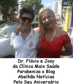 Dr. Flávio e Josy