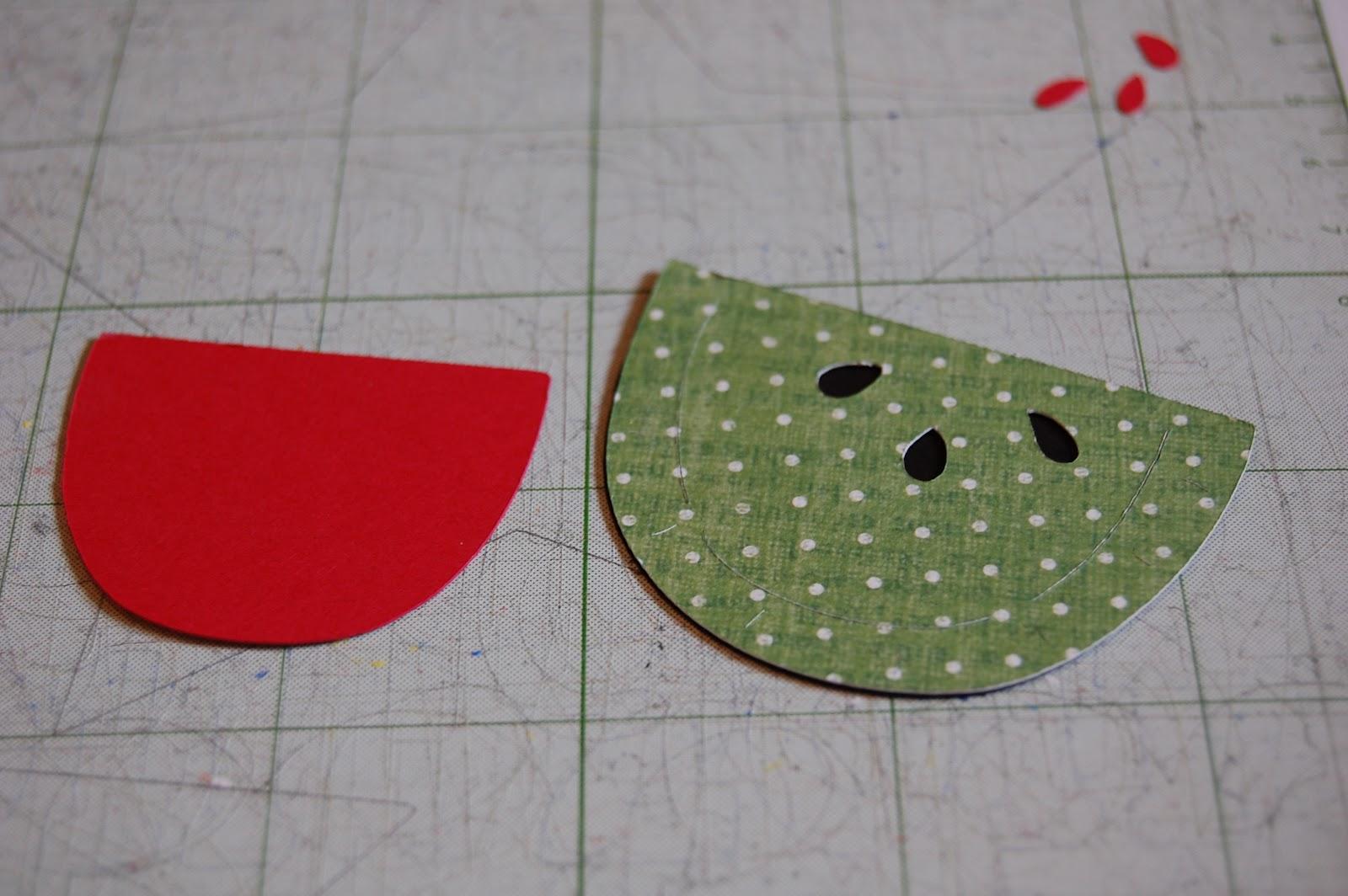 how to cut a mini watermelon