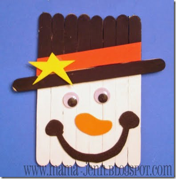 preschool crafts for kids christmas popsicle stick