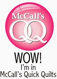 I was featured in McCall's Quick Quilts!