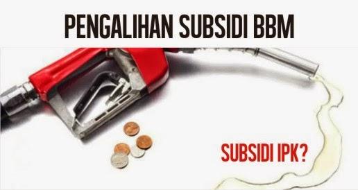 4 pengalihan subsidi bbm