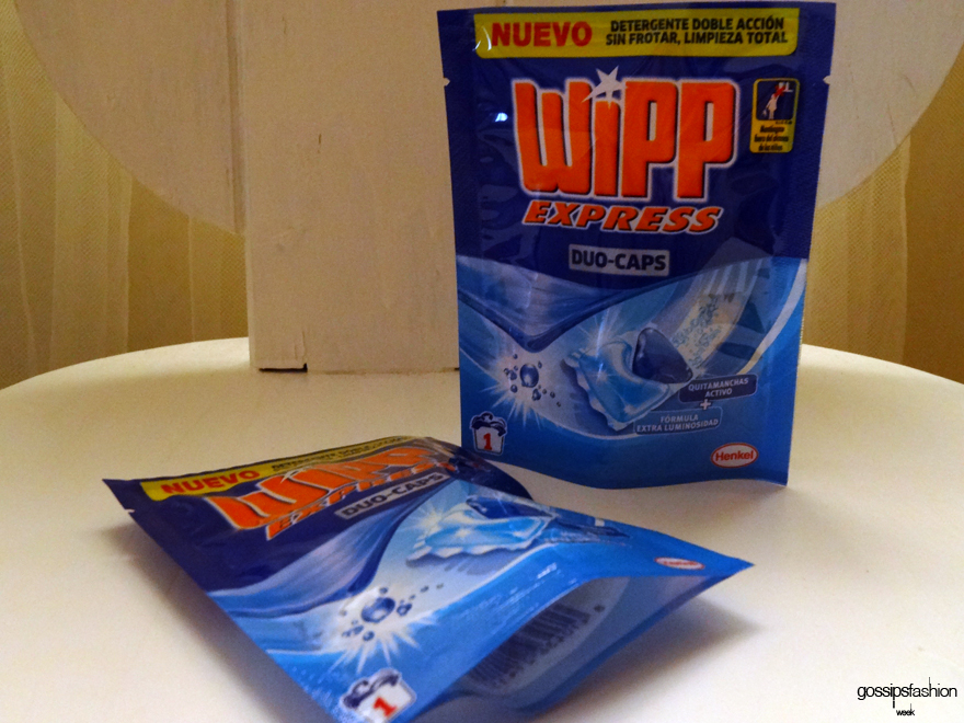 las cajas de muestras premium detergente wipp express