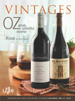 May 11, 2013 LCBO Vintages wine magazine cover