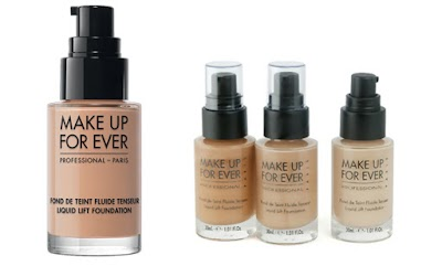 Love at first sight: Liquid Lift Foundation MUFE