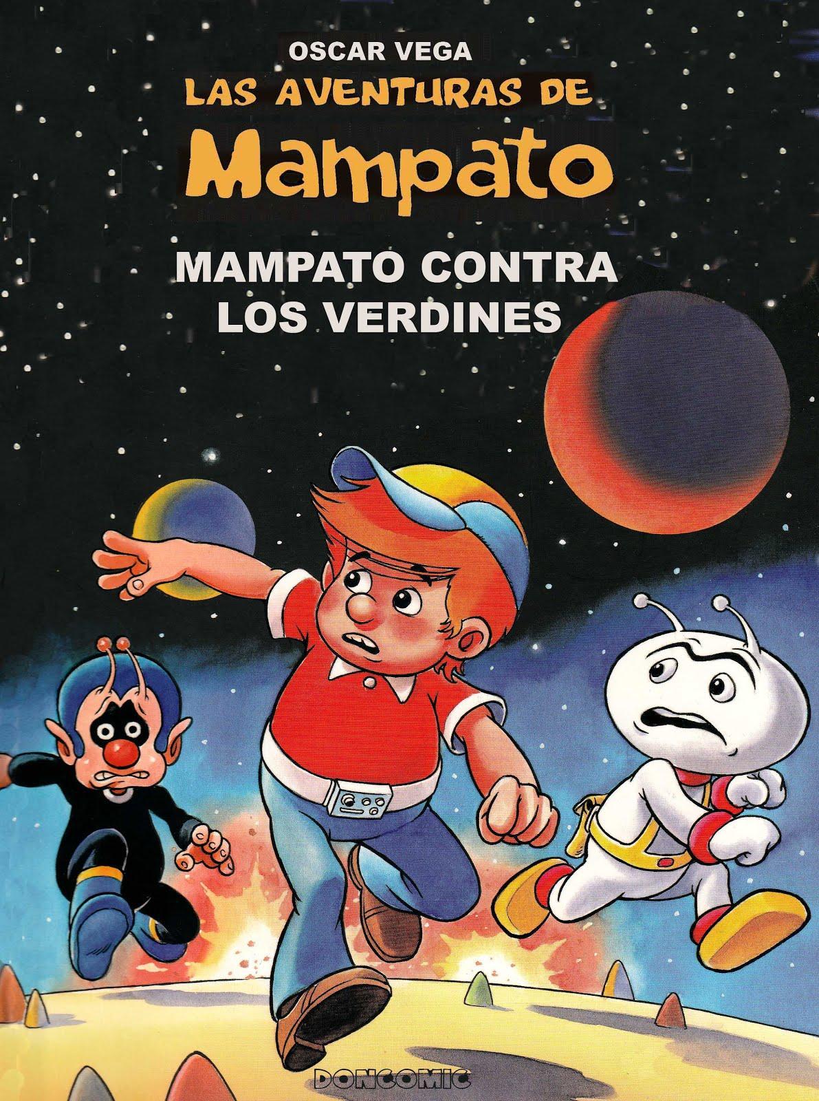 Las aventuras de Mampato: Escaneos de Doncomic