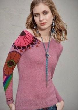 Wzory żakardów na drutach