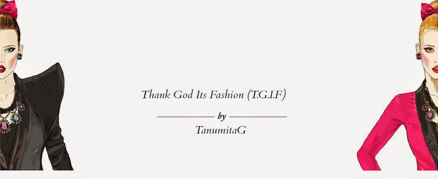 THANK GOD ITS FASHION
