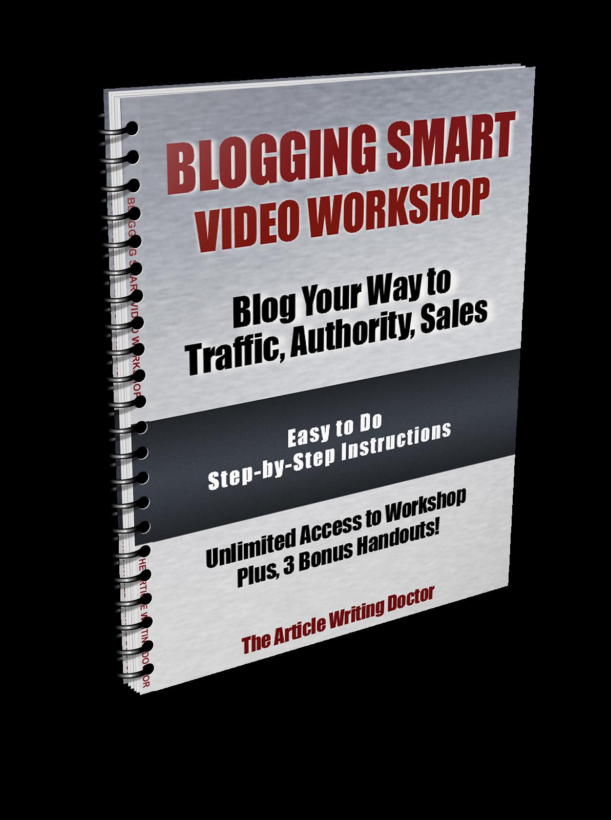 Blogging Smart