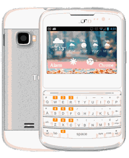 Tecno D1 - Android 4.2 OS QWERTY Keypad