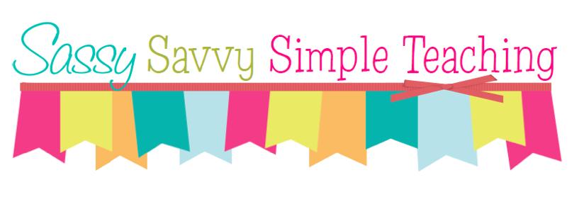 Sassy Savy Simple Teaching