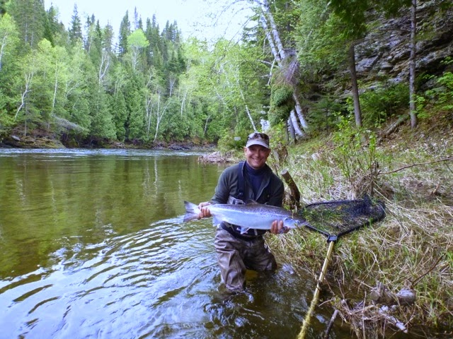The Angler And The Salmon Story
