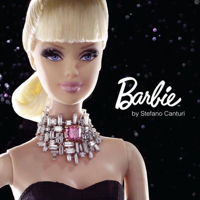 Самая дорогая кукла Барби с бриллиантами