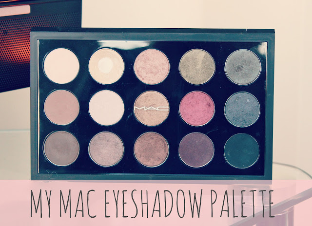 My MAC Eyeshadow Palette-MAC Eyeshadow Collection-MAC Eyeshadow Swatches-Neutral MAC Eyeshadows-MAC 15 Pan Pro Eyeshadow Palette-UK Beauty Blog-Couture Girl Blogspot-Beauty Blogger
