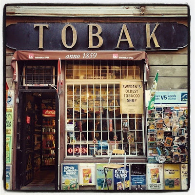 Sweden's oldest tobacco shop