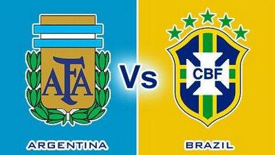amistoso Argentina vs Brasil