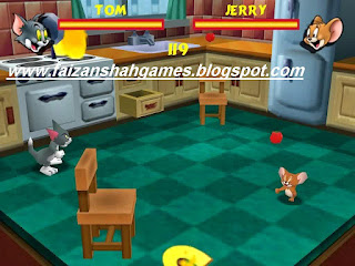 Tom and jerry in fists of fury game