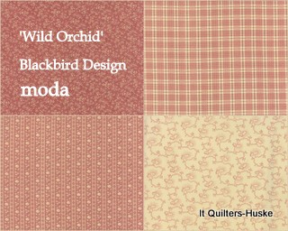'Wild Orchid'-Blackbird Design-MODA.