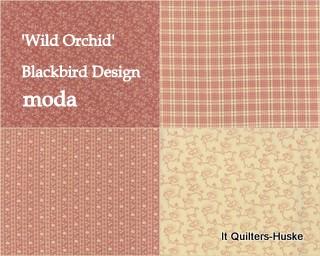'Wild Orchid'-Blackbird Design-MODA.