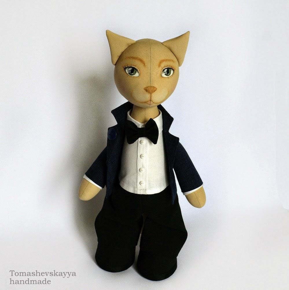 Игрушка кот Челябинск. Сувенир котик.