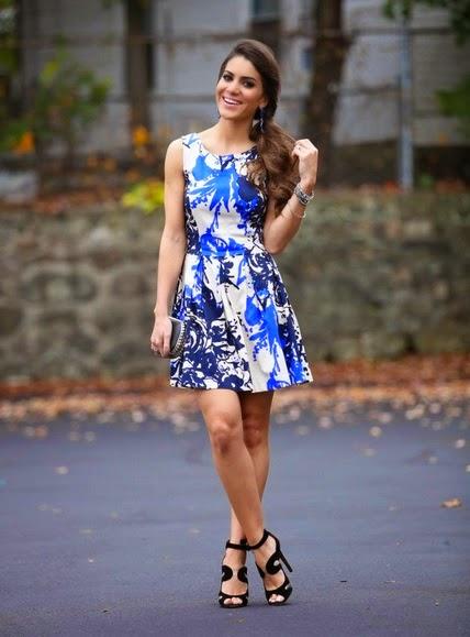 Look  Camila Coelho - Vestido Estampado  817a8439154f5