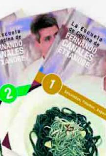 La Escuela de Cocina de Fernando Canale Etxanobe - La Razón