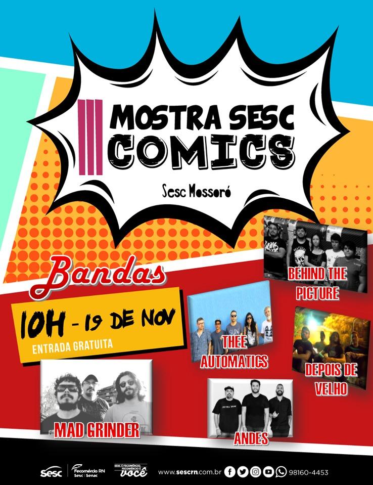 MOSTRA SESC COMICS