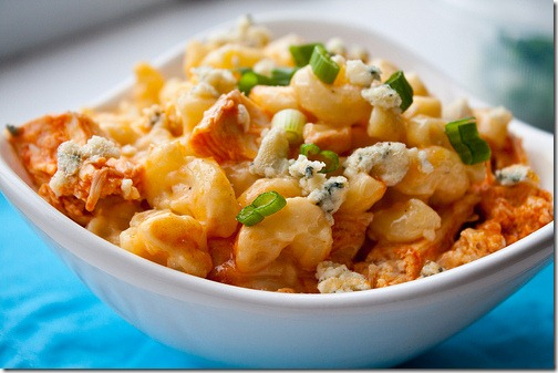 My Favorite Things: Buffalo Chicken Macaroni and Blue Cheese from Can ...