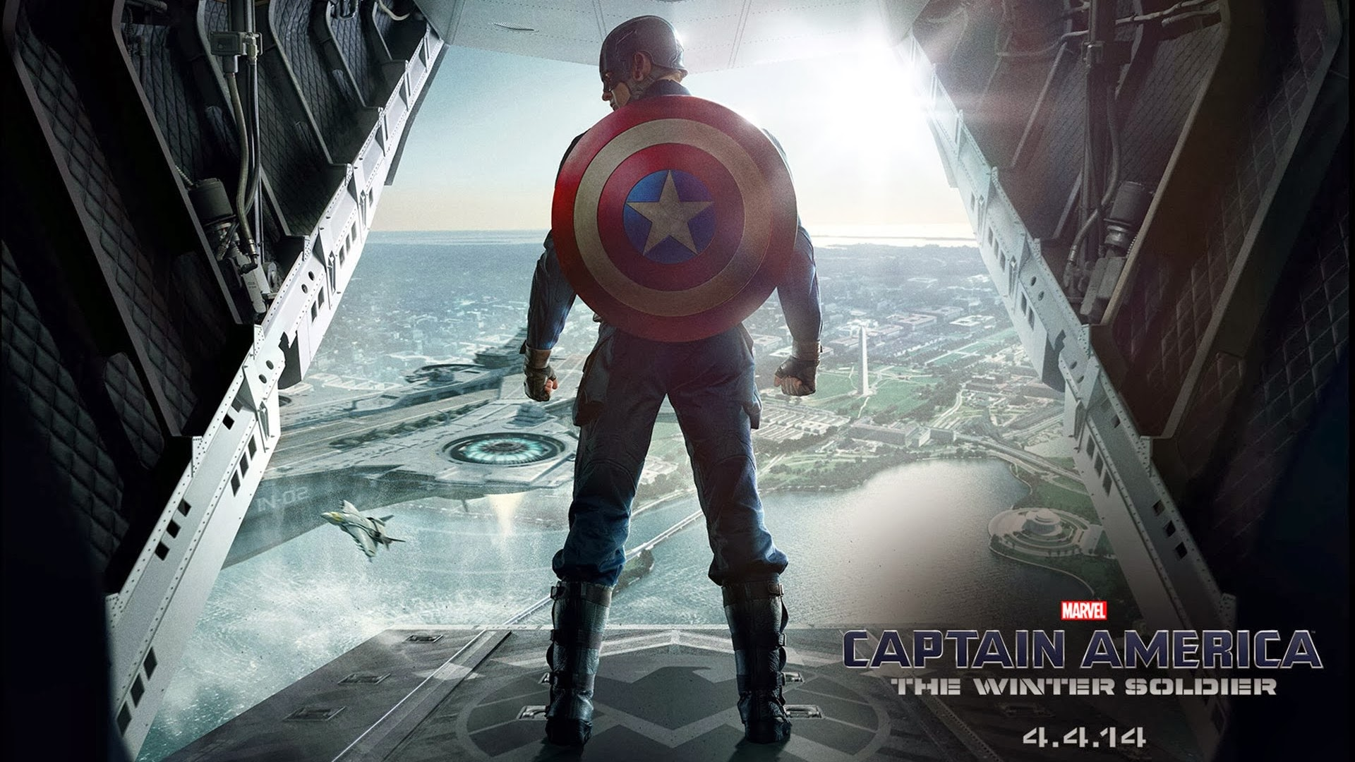 Captain America 2 Winter Soldier Poster