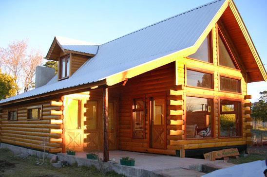 Construcciones wormald casas de madera monta a - Apartamentos de montana ...