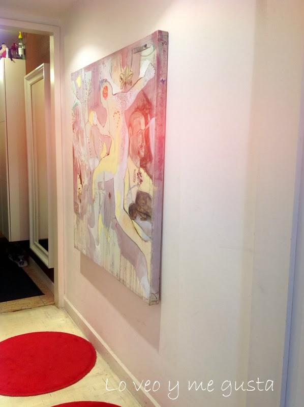 Lo veo y me gusta como decorar el pasillo con un cuadro - Como decorar con cuadros ...