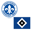 SV Darmstadt 98 - Hamburger SV