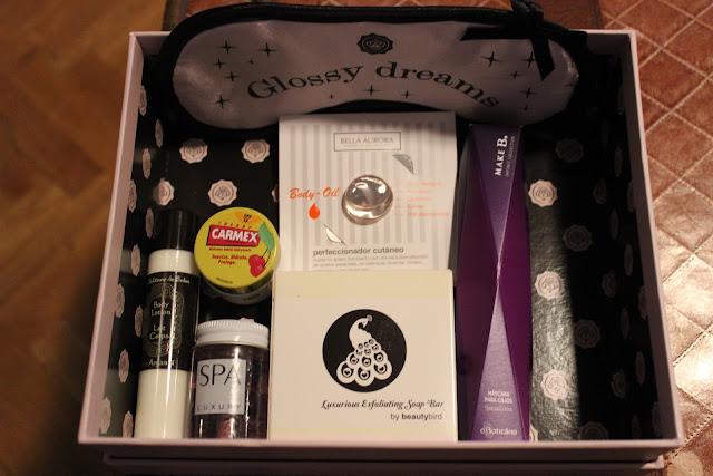 Glossy box de noviembre