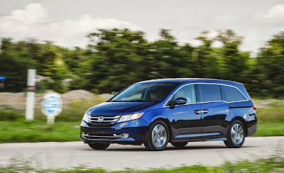 2015 Honda Odyssey Redesign