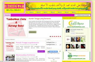 Muslimah Blogger Template