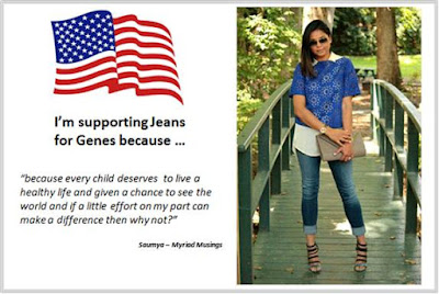 Sydney Fashion Hunter - Fashion Bloggers For Jeans For Genes - Myriad Musings - USA