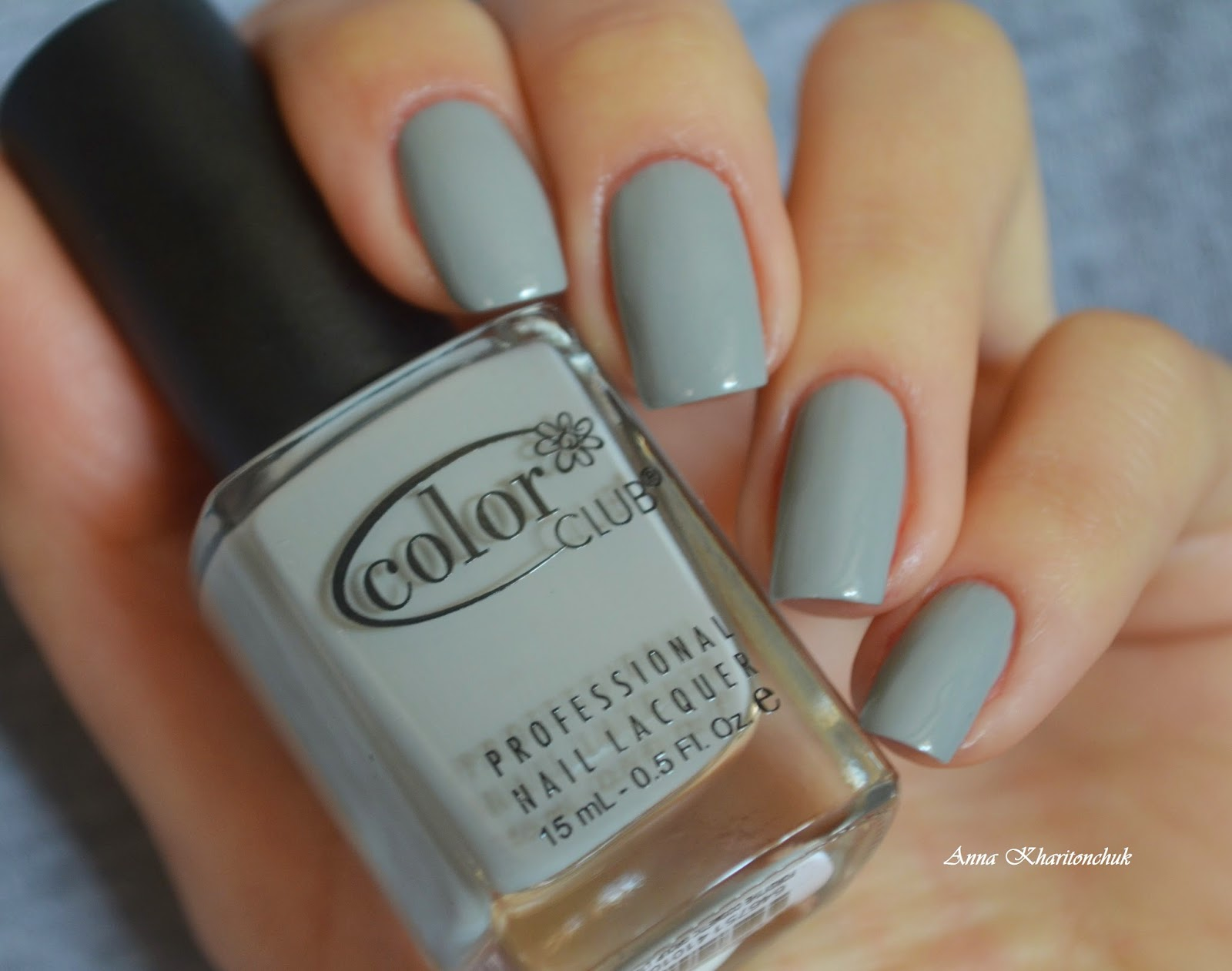 Color Club Lady Holiday 1010 + водный дизайн